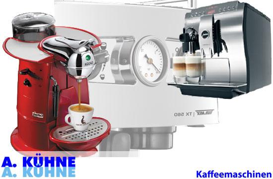 ELEKTROHAUSHALTGERÄTE KAFFEEMASCHINEN Vollautomaten  -> Kaffeemaschine Italien